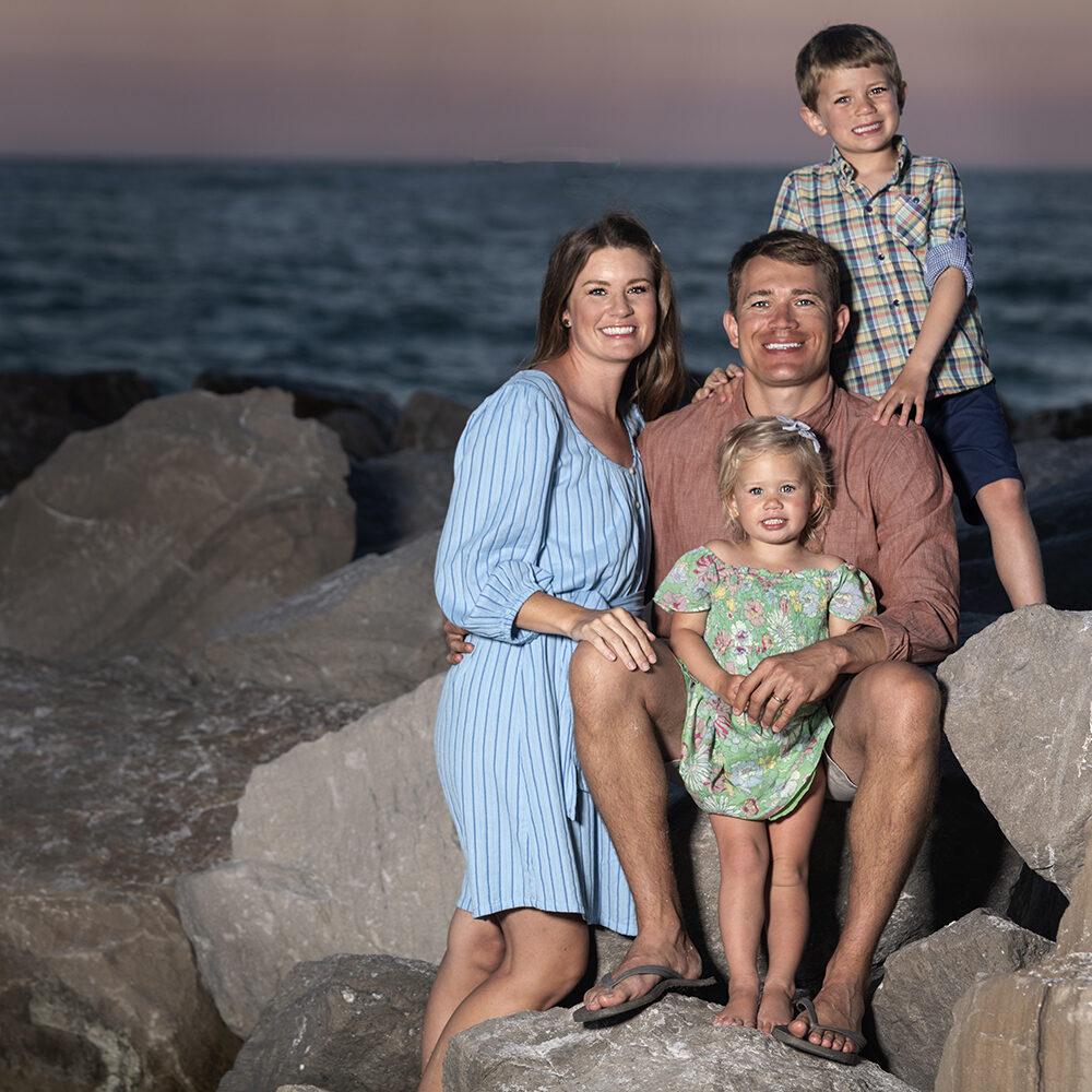 Ethan, Whitney, Nolan & Gracyn Kenney